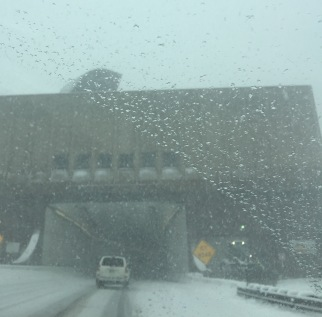 Entering the Eisenhower Tunnel