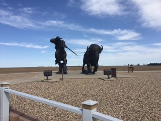 Giant Buffalo Bill Statue