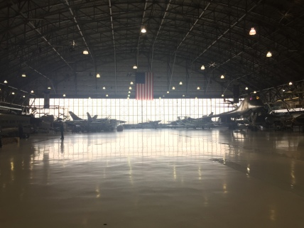 The hanger was originally the site of the Lowry AFB