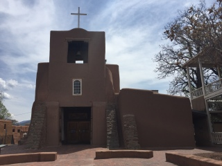 Oldest church in U.S. 1610